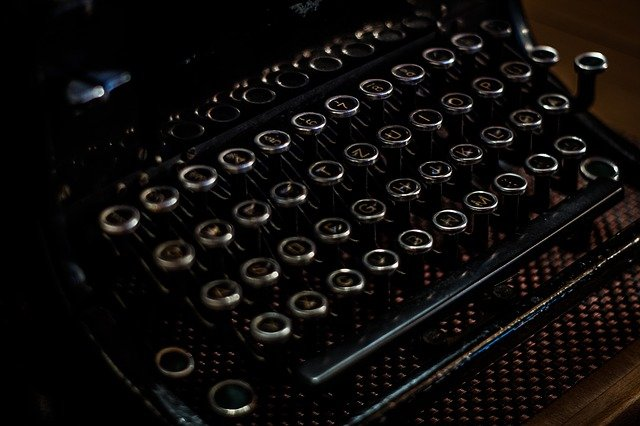 schrijf machine oud