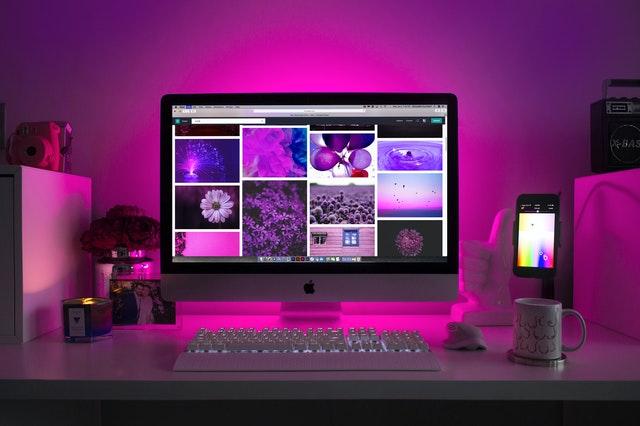 roze laptop afbeeldingen smmb